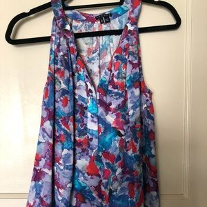 Theory Floral Halter Top
